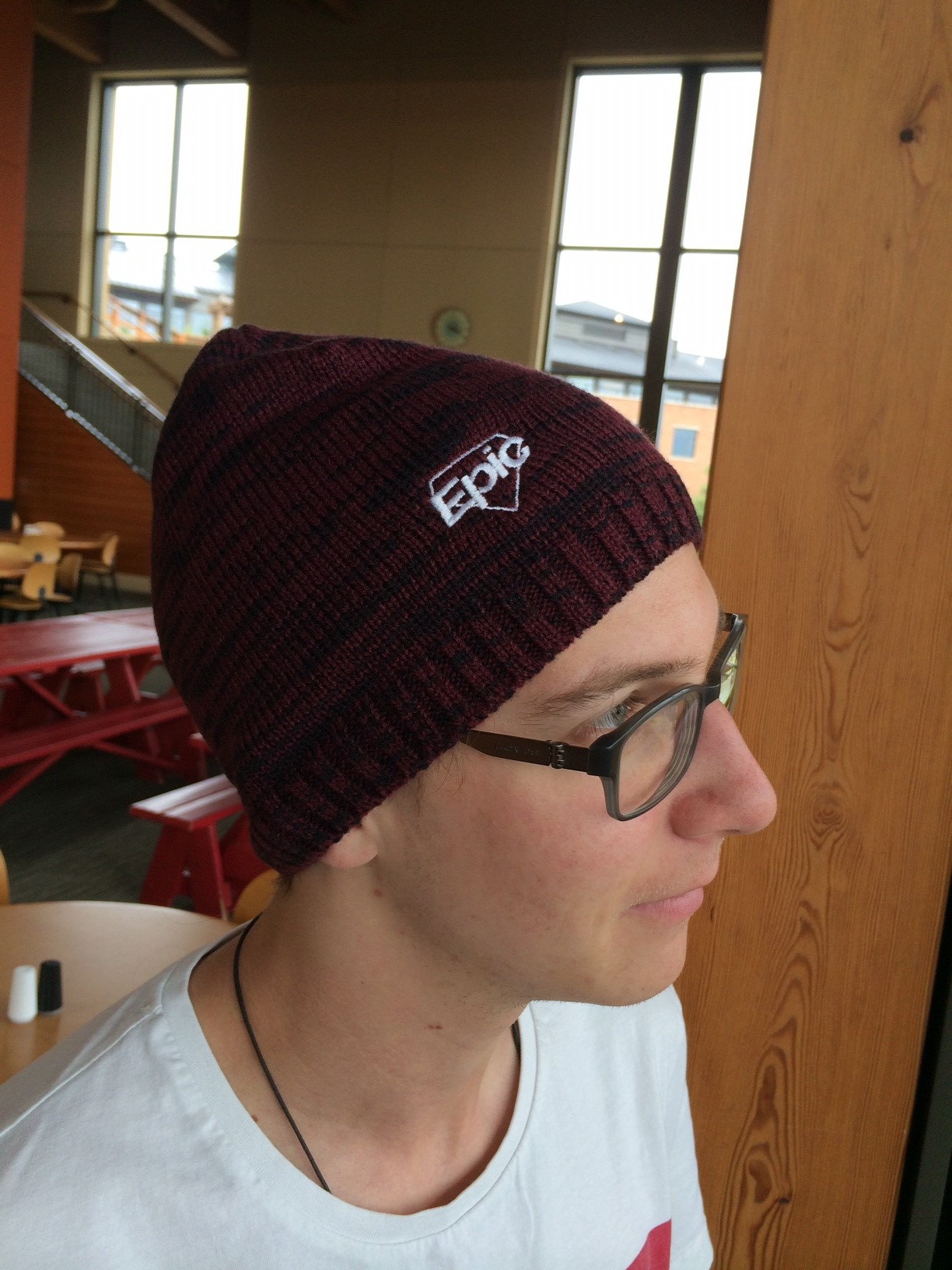 Epic Logo Space-Dyed Beanie