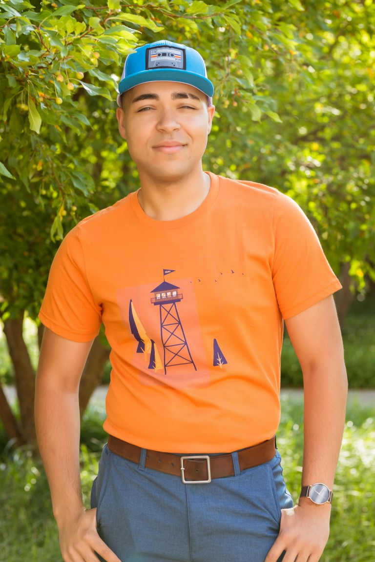 Unisex Short Sleeve T-Shirt - Lookout Tower